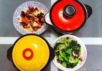 年初五的午餐,三口之家做了三菜一湯,只有這道菜還能看出點年味