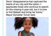 繼父開口,休斯敦失蹤小女孩遺體在阿肯色州