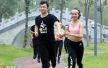 馬拉松訓練太乏味?湖北襄陽90後美女組團陪跑友訓練