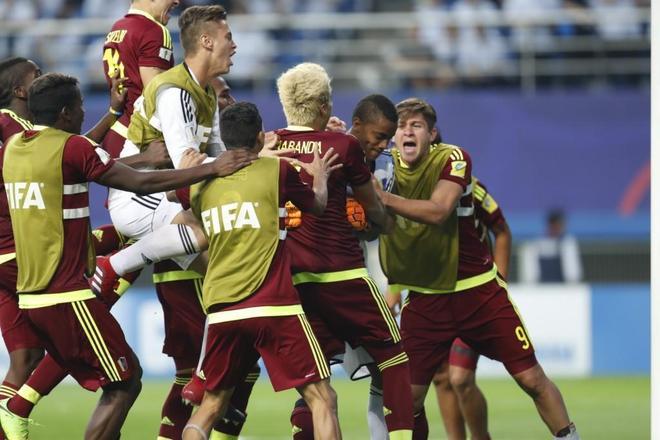足球——U20世界盃:委內瑞拉晉級決賽