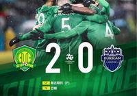 戰報   奧古斯托傳射巴頓頭球破門 北京中赫國安2-0武裡南聯