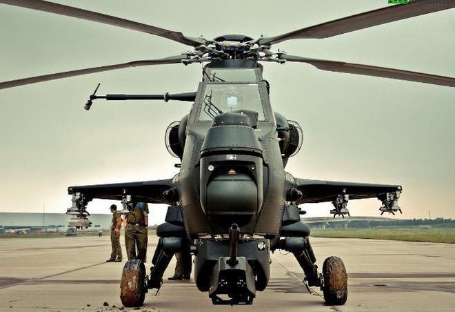 武直-10:代號霹靂火,世界十大武裝直升機排名第4
