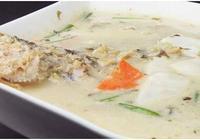 中國名菜——雪菜大湯黃魚做法
