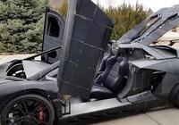 美國老爹給兒子手工打造一輛蘭博基尼Aventador SV