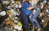 垃圾堆也能當背景來攝影創作