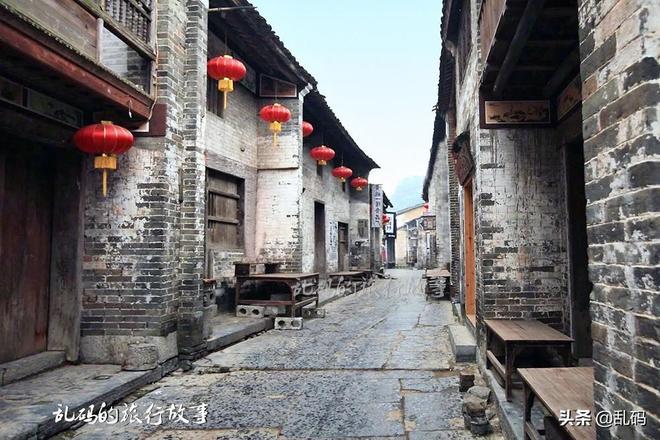 """廣西最低調的古鎮 美景不輸麗江 被譽""""中國第一山水古鎮""""!"""