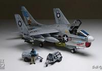 1/48 A-7E 海盜 VA-113 尾刺   模型作品