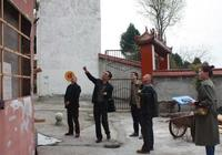 遂寧市文物管理局對通家山寺進行文物安全檢查
