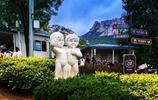 風景圖集:山東青島嶗山仰口風景區,碧海藍天,景色如畫