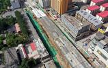 山西太原31歲的第一座立交橋不見了蹤影,如今成為這副模樣