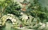 張明康畫家《淺談水彩風景的江南水鄉》