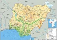 尼日利亞的主要地形是什麼?