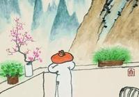 老樹畫畫:你問我忙啥,秋風一杯茶