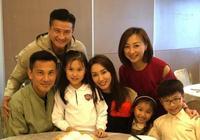 TVB女神郭可盈48歲生的日,被弟妹熊黛林一家搶鏡,雙胞胎成焦點
