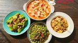 為家人精心做的4菜晚餐,都是簡單家常菜,老公說回家吃飯最開心