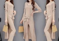 """70後女人如何穿出時髦感?試試""""三件套裝""""的穿搭法,顯瘦又洋氣"""