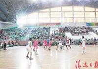 全縣中小學生籃球賽閉幕