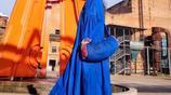 楊麗萍設計原創民族風秋款連衣裙優雅大氣,彰顯東方民族風的氣派