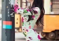 當紅女星穿旗袍,趙麗穎清新可人,倪妮風情萬種,佟麗婭古典養眼