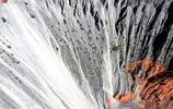 新疆烏蘇安集海大峽谷彰顯大自然鬼斧神工呈現地質奇觀