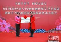 2017年桂臺(南寧)少數民族民俗文化交流周在南寧開幕