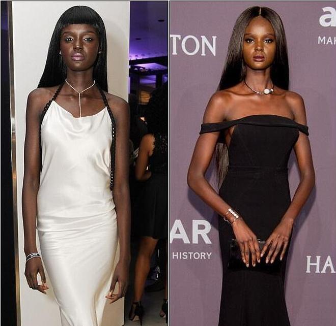 黑人現實版的芭比娃娃