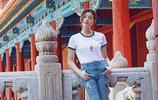 34歲辣媽陳妍希故宮寫真,酷似鄰家女孩沈佳怡回來了嗎?