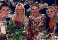 拉德萬斯卡和科貝爾齊聚沃茲尼亞奇婚禮,有一種友誼叫波蘭三姐妹