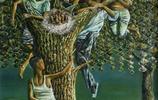 湖北農民初中輟學,20年孤獨作畫,一朝代表作賣出20萬高價