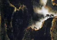 古今名家畫黃山,李可染的逆光黃山最為出彩!