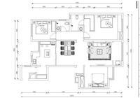襄陽漢江夢139三房兩廳現代簡約裝修案例