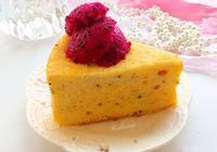 火龍果戚風蛋糕