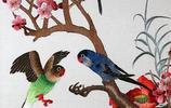 中國刺繡中的 鳥語花香