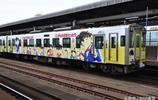 柯南迷的聖地:坐柯南列車,井蓋上都是柯南