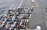 10萬噸航母,用來搬家可裝多少輛汽車?美國:我來告訴你