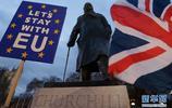 """英國議會下院投票否決""""脫歐""""協議"""