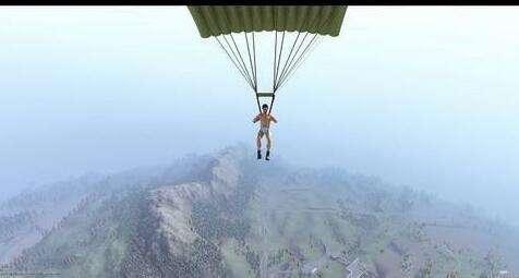花樣跳傘姿勢!《h1z1》這樣跳傘才最不會死