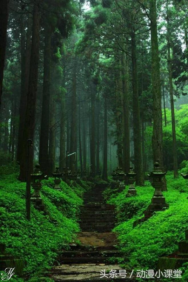 動漫:《螢火之森》和《夏目友人帳》取景地實景,簡直一模一樣