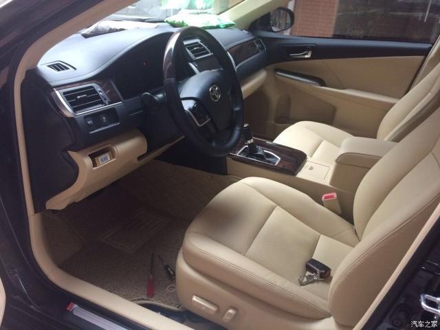 豐田的品質和行駛的舒適感 豐田凱美瑞口碑