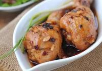 豆豉醬蒸雞腿:十分鐘快手菜