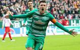 足球——德甲聯賽:不來梅勝萊比錫