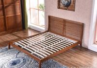 這樣的水曲柳實木大床你喜歡嗎?