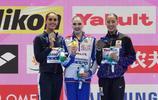 花樣游泳——女子單人技術自選:俄羅斯選手科列斯尼琴科奪冠