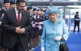 英國女王伊麗莎白二世訪問英國航空公司