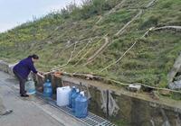 「原創實拍」南寧一土坡冒出清水 引來眾人接水飲用