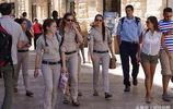 以色列性感女兵扎堆兒