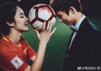 國腳尹鴻博拍攝婚紗照 愛妻穿國足球衣出鏡