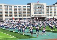丹東:小學生田徑運動會熱鬧非凡