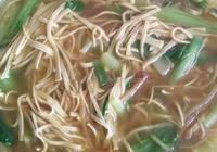 小白菜金絲湯