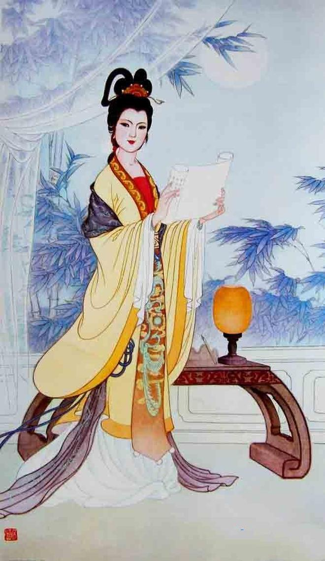 中國古代十大最著名的才女,琴棋書畫樣樣精通,一個比一個美